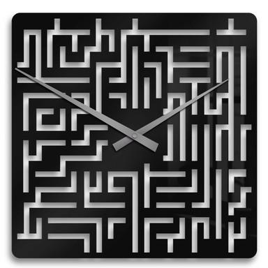Wanduhr Labyrinth