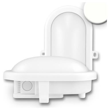 LED Kellerleuchte, 10W, IP44. weiss, neutralweiss