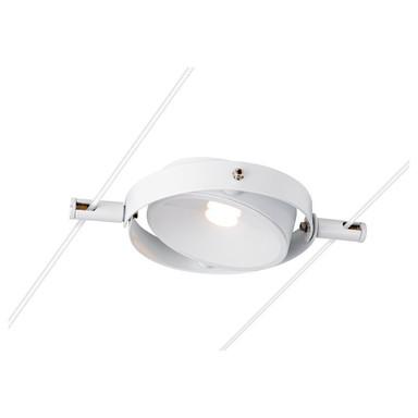 LED Seilsystemleuchte Tenseo in Weiss 6W 360lm