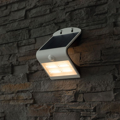 LED Solar Wandleuchte Brighter 3.2W 400lm IP65