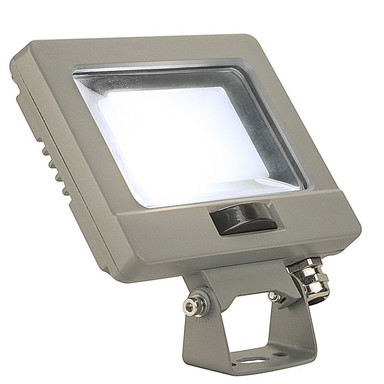 LED Strahler Spoodi mit Bewegungsmelder in Silbergrau 11W 870lm 4000K
