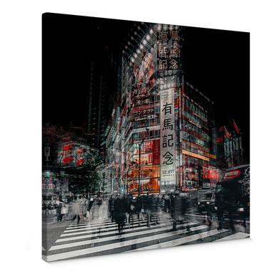 Leinwandbild Chiriaco - Colours of Tokyo