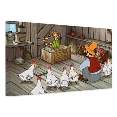 Leinwandbild Pettersson und Findus - Findus der Geschichtenerzähler