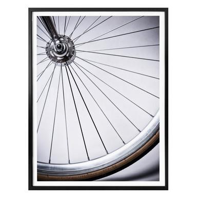Poster Fahrradspeichen