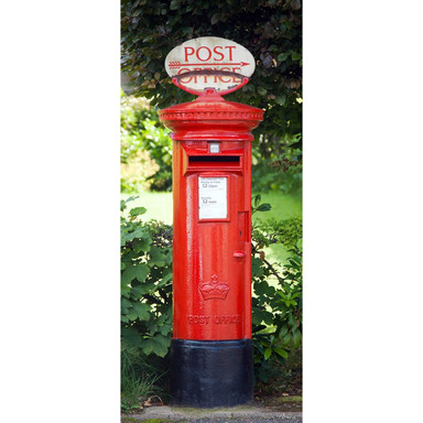Türtapete Postbox - 86x200cm