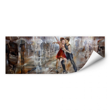 Wallprint Schmucker - It's raining again - Panorama
