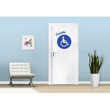 Wandtattoo Behinderten-Toilette
