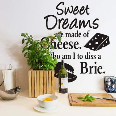 Wandtattoo Cheese Dreams
