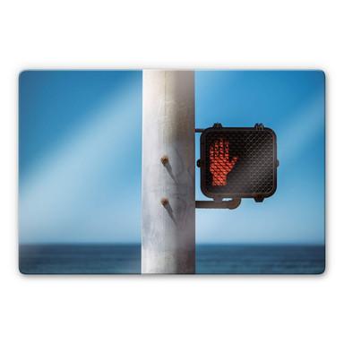 Glasbild Ochlich - Stop
