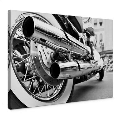 Leinwandbild Motorcycle Power
