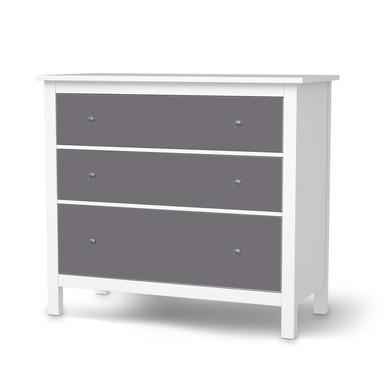 Möbelfolie IKEA Hemnes Kommode 3 Schubladen - Grau Light