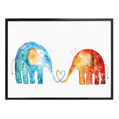 Poster Hagenmeyer - Elefantenliebe