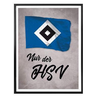Poster Nur der HSV 02