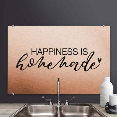 Spritzschutz - Happiness is homemade