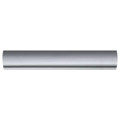 URail Schiene in Chrom-matt 0.1m