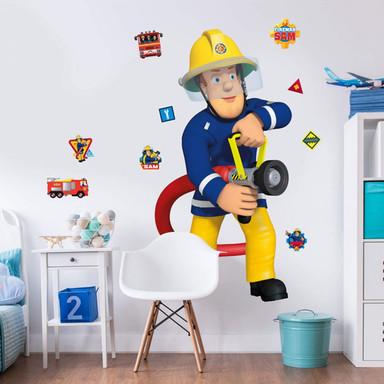 Wandsticker Feuerwehrmann Sam - Bild 1