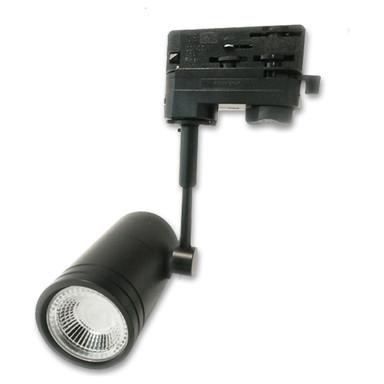 3-PH Schienen-Adapter für GU10-Spots, schwarz