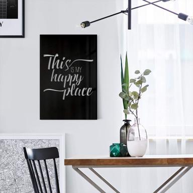 Acryldeko - This is my happy place