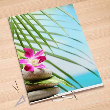 Folienbogen (100x150cm) - Lotus Flower