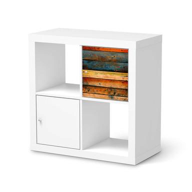 Klebefolie IKEA Expedit Regal Tür einzeln - Wooden- Bild 1