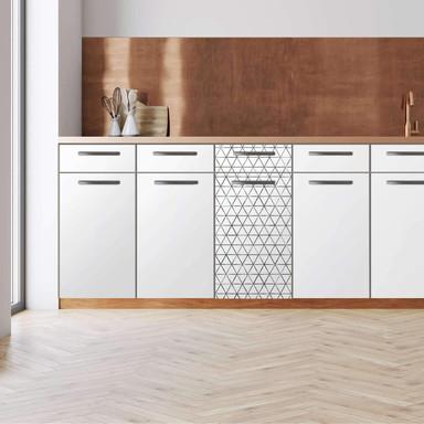 Küchenfolie - Unterschrank 40cm Breite - Mediana