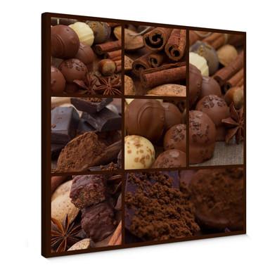 Leinwandbild Schokoladentraum