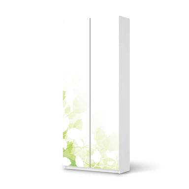 Möbelfolie IKEA Pax Schrank 236cm Höhe - 2 Türen - Flower Light