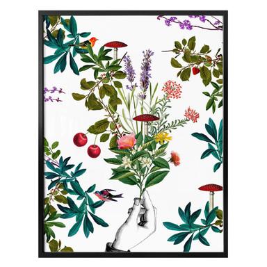 Poster Feldmann - Botanical White