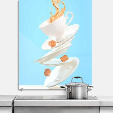 Spritzschutz Belenko - Dancing Coffee