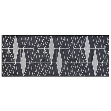Wash&Dry Decor Fussmatte Ampiezza grey 75x190cm