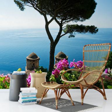 Fototapete Blick auf die Amalfiküste
