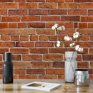 Fototapete Ziegelsteinmauer
