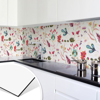 Küchenrückwand - Alu Dibond - Blanz - Zauberwald