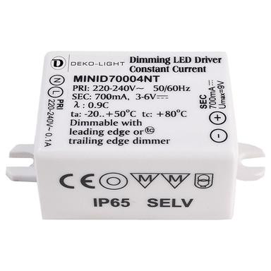LED Netzgerät Mini in Weiss 4W 700mA IP65