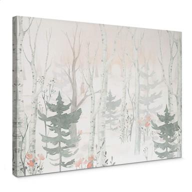 Leinwandbild Kvilis - Im Wald