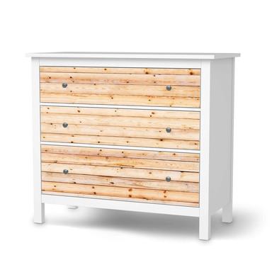 Möbelfolie IKEA Hemnes Kommode 3 Schubladen - Bright Planks