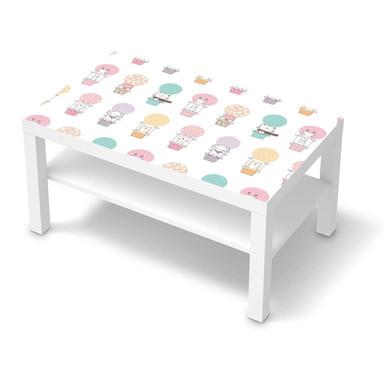 Möbelfolie IKEA Lack Tisch 90x55cm - Flying Animals