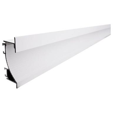 Trockenbau-Profil, Wandvoute EL-02-12 für 14mm LED Stripes, Weiss-matt, 1000 mm