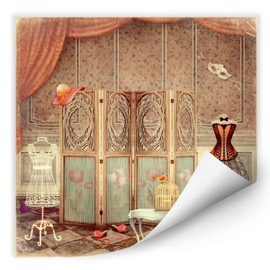 Wallprint Ankleidezimmer einer Prinzessin