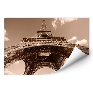 Wallprint Eiffelturm Perspektive - Bild 1
