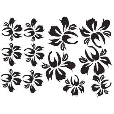 Wandtattoo Blüten-Set 17 - Bild 1