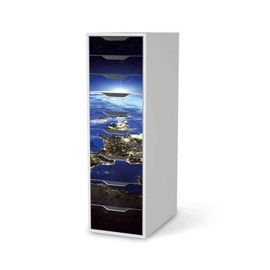 Folie IKEA Alex 9 Schubladen - Earth View- Bild 1