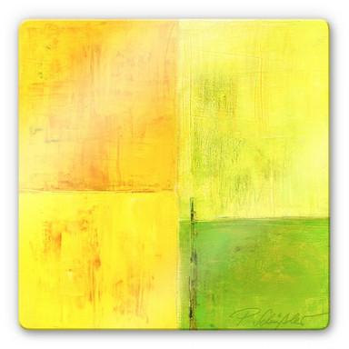 Glasbild Schüssler - Spring Composition II
