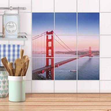 Klebefliesen - Golden Gate