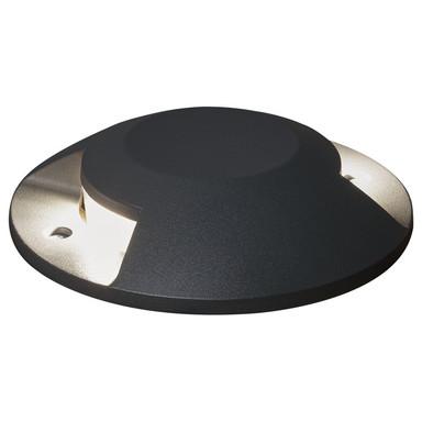 LED Terrassen- und Bodenaufbaustrahler in Anthrazit 2x 5W 900lm IP65