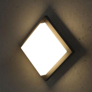 LED Wandleuchte Makira 8W 3000K 480lm IP54