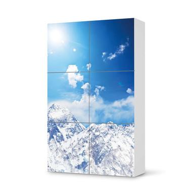 Möbel Klebefolie IKEA Besta Schrank 6 Türen (hoch) - Everest- Bild 1