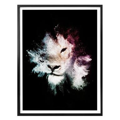 Poster Hugonnard - Wild Explosion: Löwe