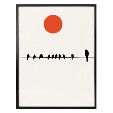 Poster Kubistika - Ruhiger Tag