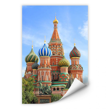Wallprint St. Basilius Kathedrale Moskau